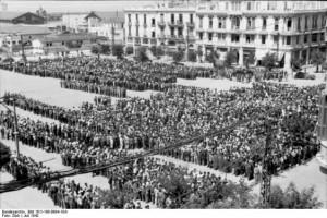 Griechenland, Saloniki, Erfassung von Juden